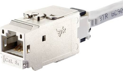 RJ45-Einbaumodul Keystone CAT 6a Metz Connect 130B21-E