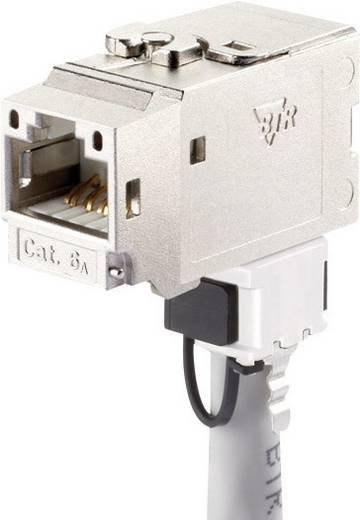 RJ45-Einbaumodul Keystone CAT 6a Metz Connect 130B22-E