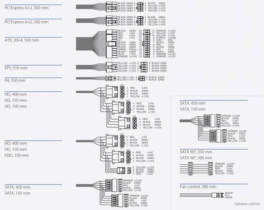 Bicker BEA-560H 600W PC-Netzteil