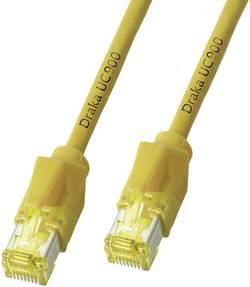 Câble Draka CAT 6A/S/FTP - [1x RJ45 mâle - 1x RJ45 mâle] - K8560GE.5 - 5 m - jaune