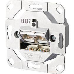 Sieťová zásuvka pod omietku Metz Connect 130C381200-I, CAT 6A, 2 porty