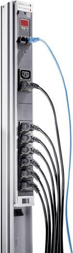 Rittal 7859.130 19 Zoll Netzwerkschrank-Steckdosenleiste Kaltgeräte-Steckdose C19 16A Schwarz