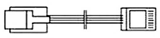 ISDN Anschlusskabel [1x RJ45-Stecker 8p4c - 1x RJ45-Stecker 8p4c] 1.50 m Schwarz Hama
