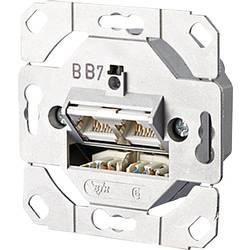 Sieťová zásuvka pod omietku Metz Connect 1307381200-I, CAT 6, 2 porty