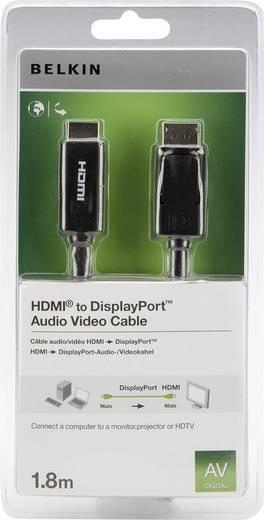 Belkin DisplayPort auf HDMI Anschlusskabel 1,8 m Schwarz