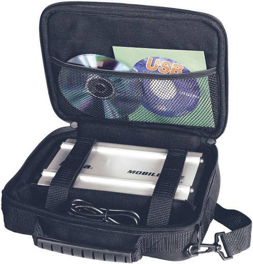 Festplatten-Tasche 8.9 cm (3.5 Zoll) Hama Gr. S 78361 Schwarz