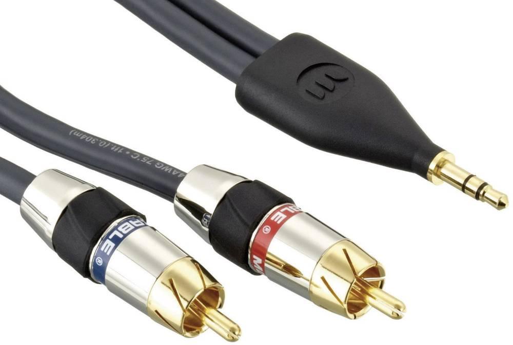 Monster 2m Jack Plug 3 5 Mm To Rca Plug Phono Rca Plug