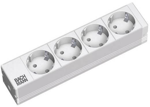 10 Zoll Netzwerkschrank-Steckdosenleiste Bachmann Electric 3330122 Hell-Grau (RAL 7035)