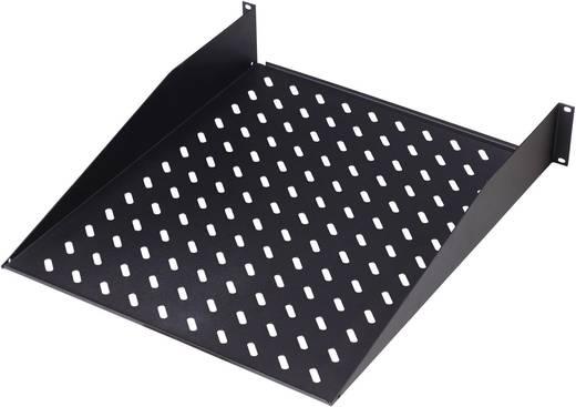 19 Zoll Netzwerkschrank-Geräteboden 2 HE Digitus DN-19 TRAY-2-SW Festeinbau Geeignet für Schranktiefe: ab 600 mm Schwa