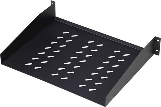 19 Zoll Netzwerkschrank-Geräteboden 2 HE Digitus DN-19 TRAY-2-55-SW Festeinbau Geeignet für Schranktiefe: ab 800 mm Sc