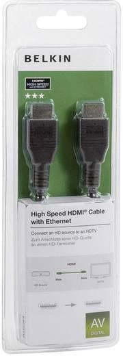 Belkin HDMI Anschlusskabel [1x HDMI-Stecker - 1x HDMI-Stecker] 2 m Schwarz