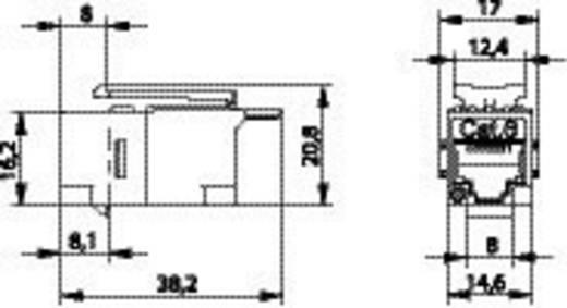 RJ45-Einbaumodul Keystone CAT 6 Telegärtner J00029A0061