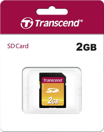 SD-Karte 2 GB Transcend