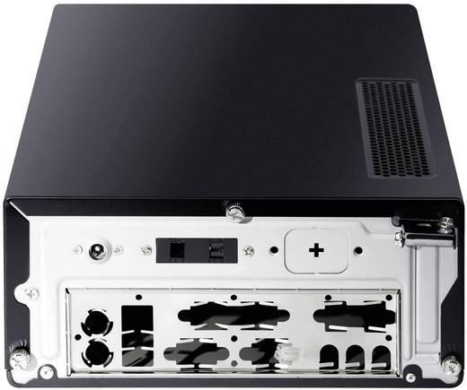 Mini-Tower PC-Gehäuse Antec ISK 310-650 Schwarz/Silber Integriertes Netzteil