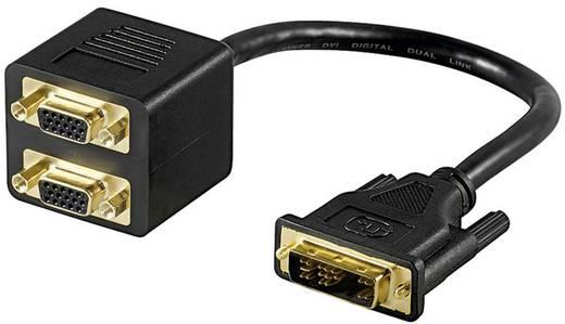 DVI-I Splitter-Kabel auf 2x SVGA 0,15 m