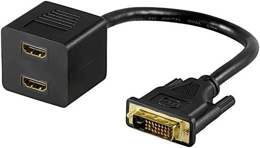 DVI-D Splitter-Kabel auf 2x HDMI 0,15 m