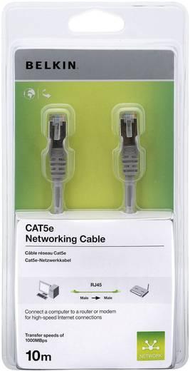 RJ45 Netzwerk Anschlusskabel CAT 5e S/FTP 10 m Grau mit Rastnasenschutz Belkin