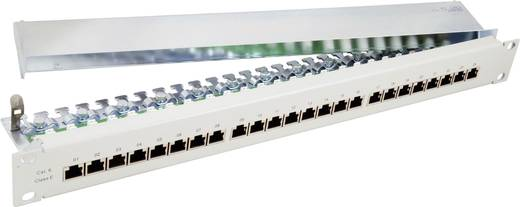 24 Port Netzwerk-Patchpanel EFB Elektronik 37667.1V1 CAT 6 1 HE