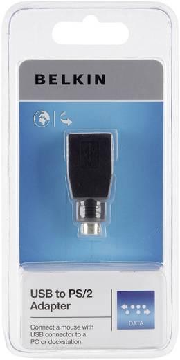 USB / PS/2 Maus Adapter [1x USB 2.0 Buchse A - 1x PS/2-Stecker] 0 m Schwarz Belkin