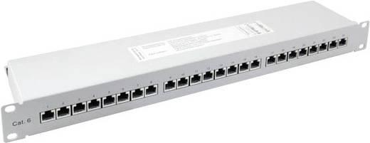 24 Port Netzwerk-Patchpanel EFB Elektronik 37666.1 CAT 6a 1 HE