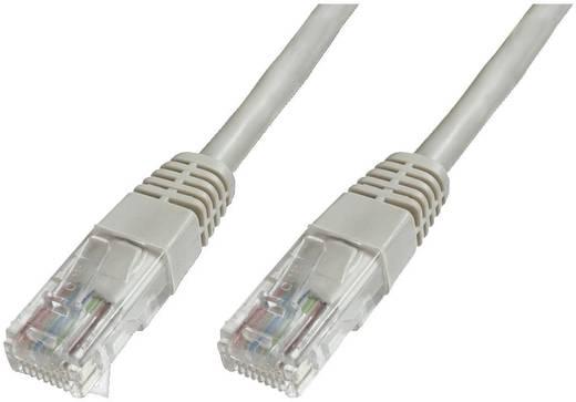 RJ45 Netzwerk Anschlusskabel CAT 6 U/UTP 1 m Grau mit Rastnasenschutz Digitus Professional