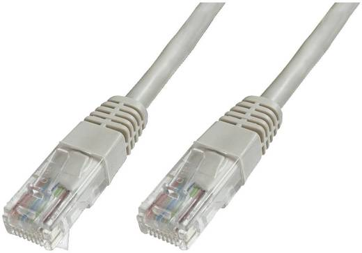 RJ45 Netzwerk Anschlusskabel CAT 6 U/UTP 7 m Grau mit Rastnasenschutz Digitus Professional