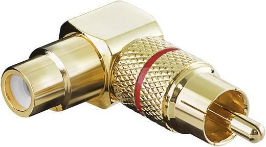Goobay 11591 Cinch Audio Adapter [1x Cinch-Stecker - 1x Cinch-Buchse] Gold, Rot