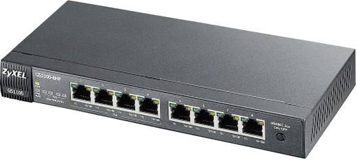 Netzwerk Switch RJ45 ZyXEL GS1110-8HP 8 Port 1 GBit/s PoE-Funktion