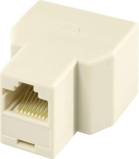 RJ45 Netzwerk T-Adapter CAT 5e [2x RJ45-Buchse - 1x RJ45-Buchse] 0 m Metall EFB Elektronik