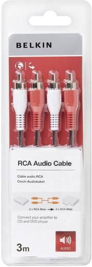 Belkin Pro Cinch Audio Kabel 3 m Schwarz