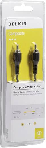 Composite Cinch Video Anschlusskabel [1x Cinch-Stecker - 1x Cinch-Stecker] 1 m Schwarz Belkin