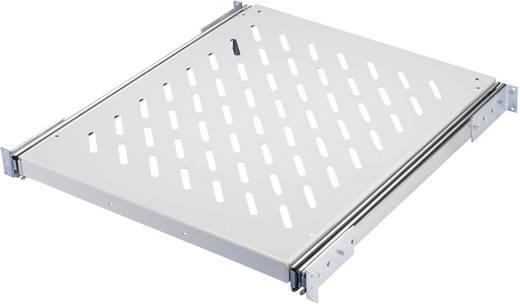 19 Zoll Netzwerkschrank-Geräteboden 0.5 HE Rittal 7000.625 variable Befestigungsschienen Geeignet für Schranktiefe: ab 600 mm Grau