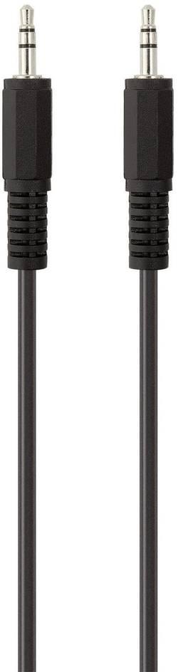 Připojovací kabel Belkin jack zástr. 3.5 mm/jack zástr. 3.5 mm, 2 m, černý