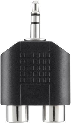 Image of Belkin Klinke / Cinch Audio Y-Adapter [1x Klinkenstecker 3.5 mm - 2x Cinch-Buchse] Schwarz