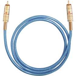 Cinch digitálny prepojovací kábel Oehlbach 2064, [1x cinch zástrčka - 1x cinch zástrčka], 0.50 m, modrá