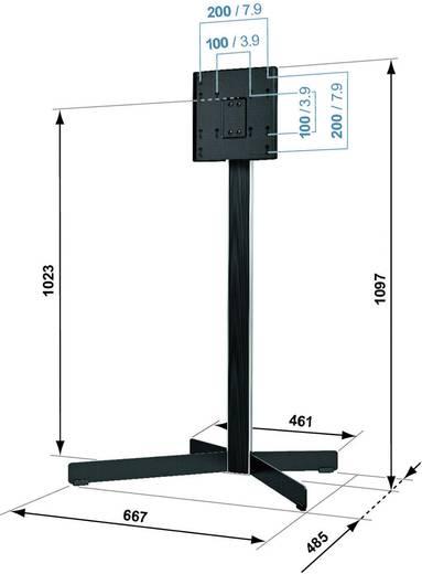 tv standfu 48 3 cm 19 94 0 cm 37 schwenkbar vogel. Black Bedroom Furniture Sets. Home Design Ideas