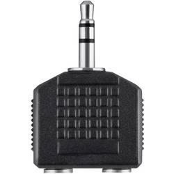 Image of Belkin Klinke Audio Y-Adapter [1x Klinkenstecker 3.5 mm - 2x Klinkenbuchse 3.5 mm] Schwarz