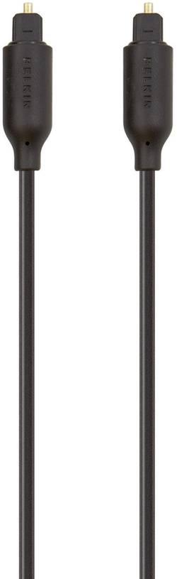 Image of Belkin Toslink Digital-Audio Anschlusskabel [1x Toslink-Stecker (ODT) - 1x Toslink-Stecker (ODT)] 2 m Schwarz