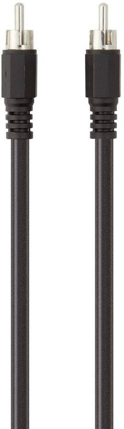 Câble de raccordement Belkin F3Y095bf1M [1x Cinch / RCA mâle - 1x Cinch / RCA mâle] 1 m noir