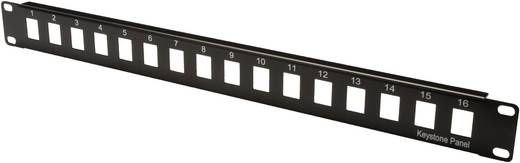16 Port Netzwerk-Patchpanel Digitus Professional DN-91400 Unbestückt 1 HE