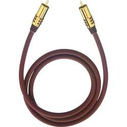 Cinch audio prepojovací kábel Oehlbach 20532, 2 m, bordó