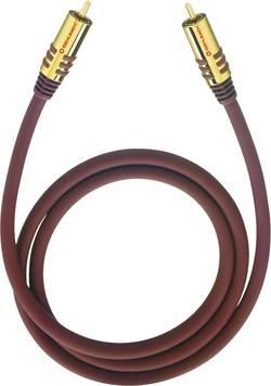 Připojovací kabel Oehlbach, cinch zástr./cinch zástr., červený, 2 m