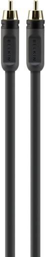 Cinch-Digital Digital-Audio Anschlusskabel [1x Cinch-Stecker - 1x Cinch-Stecker] 2 m Schwarz Belkin
