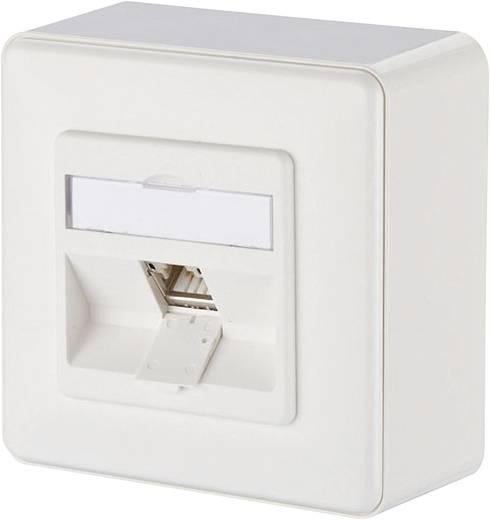 netzwerkdose aufputz cat 6a 1 port metz connect reinwei. Black Bedroom Furniture Sets. Home Design Ideas