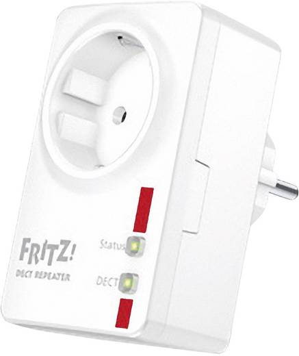 DECT Repeater AVM FRITZ!DECT Repeater 100 integrierte Steckdose