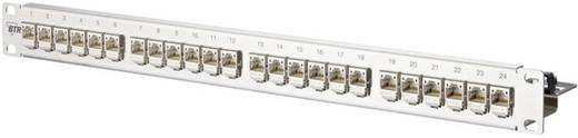 24 Port Netzwerk-Patchpanel Metz Connect 130B11P1-E CAT 6a 1 HE