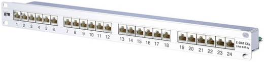 24 Port Netzwerk-Patchpanel Metz Connect 130855C-E CAT 6a 1 HE