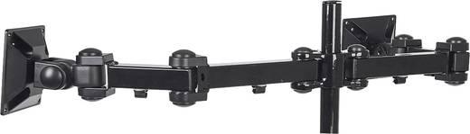 """2fach Monitor-Tischhalterung 25,4 cm (10"""") - 61,0 cm (24"""") Neigbar+Schwenkbar Manhattan 420808"""