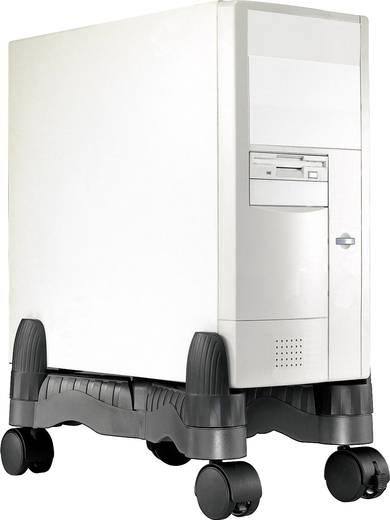 Mobiler PC-Towerständer Renkforce Schwarz