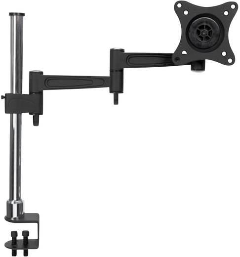 """Manhattan 423786 1fach Monitor-Tischhalterung 33,0 cm (13"""") - 68,6 cm (27"""") Neigbar+Schwenkbar"""